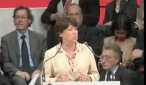 Meeting de Lille : Martine Aubry