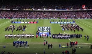 Flower of Scotland a cappella face à la France - 6 Nations 2016