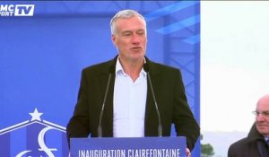 "Deschamps : ""Clairefontaine, c'est la maison du football français"""