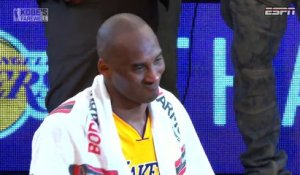 Kobe Bryant's Farewell to Lakers Fans
