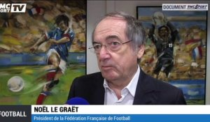 "Le Graët : ""On voulait mettre un point final à l'affaire Benzema"""