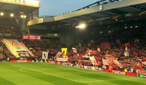 Liverpool - Dortmund: le You'll never walk alone à Anfield !