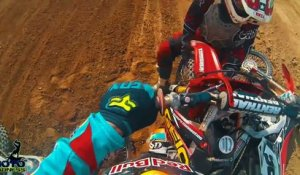 Compilation de crash en motocross