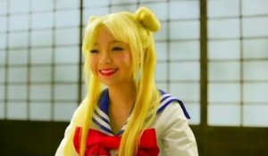 Magic potion turns Filipina girl into Sailor Moon