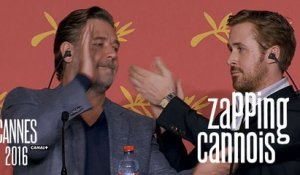 La Minute du Zapping Cannois - Ryan Gosling, Russel Crowe, Marion Cotillard - 15/05 Cannes 2016 CANAL+