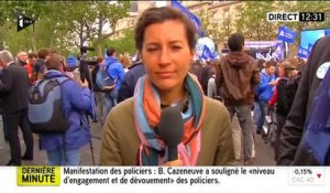 "France - Manifestation contre la ""haine anti-flics"""