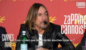 La minute du Zapping cannois du 19/05/16 - Xavier Dolan, Iggy Pop, Soko - Cannes 2016 - CANAL+