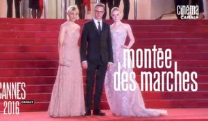 The Neon Demon (Nicolas Winding Refn) - Montée des Marches par Laurent Weil - Cannes 2016 - Canal+