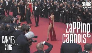 Zapping cannois du 20/05/16 -  Vanessa Paradis, Laurent Weil, Bernard Menez, Bella Hadid - Cannes 2016 - CANAL +