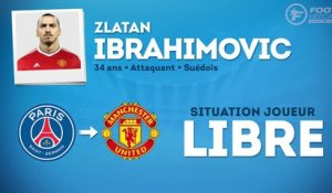 Officiel : Zlatan Ibrahimovic s'engage avec Manchester United !
