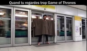 Quand tu regardes trop Game of Thrones #HODOR