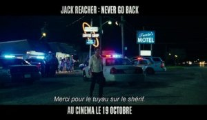Bande-annonce de Jack Reacher : Never Go Back avec Tom Cruise