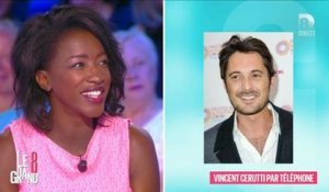 """Le Grand 8"" : L'appel surprise de Vincent Cerutti à Hapsatou Sy"