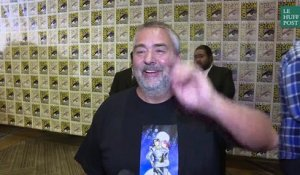 Luc Besson ovationné au Comic-Con de San Francisco
