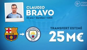 Officiel : Claudio Bravo signe à Manchester City !