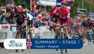 Summary - Stage 1 - Arctic Race of Norway 2016