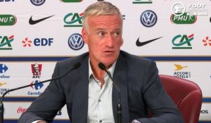 Deschamps explique l'absence de Benzema