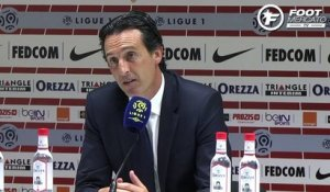 PSG : la réaction d'Unai Emery