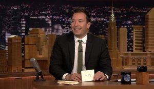 Les remerciements - The Tonight Show du 06/09