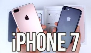 Apple iPhone 7 et 7 Plus : Déballage et prise en main (Unboxing)