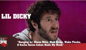 Lil Dicky - Hanging with C. Utley, M. Kemp, Waka Flocka, Sacha Baron Cohen (247HH Wild Tour Stories)
