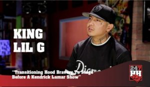 King Lil G - Transitioning Hood Bravery To Stage Before A Kendrick Lamar Show (247HH Exclusive)  (247HH Exclusive)