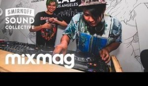 BLACKBIRD BLACKBIRD & SHAWN WASABI in The Lab LA