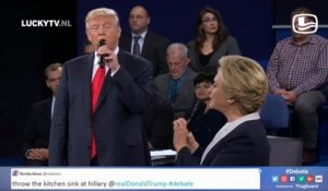 "Parodie : Clinton et Trump chantent sur ""The time of my life"""