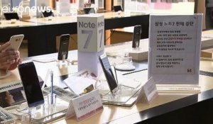 Samsung Electronics retire son Galaxy Note 7 de la vente