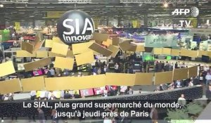 Salon SIAL: l'aliment «nature» en force sur les stands
