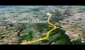 Le parcours en 3D / The route in 3D - Tour de France 2017