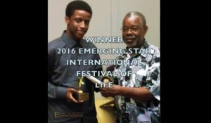 "Solomon Hobbs - SOLOMON HOBBS 2016 INTERNATIONAL FESTIVAL OF LIFE ""EMERGING STAR"" WINNER"