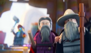 Gandalf Dumbledore Lego Movie