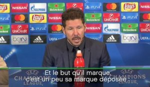 "Groupe D - Simeone : ""Gameiro a inscrit un but important"""