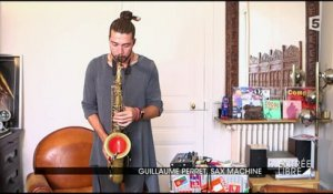 Guillaume Perret, sax machine