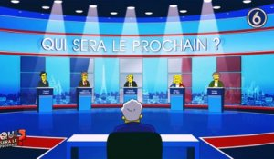 Greenpeace imagine François Hollande, Marine le Pen et François Fillon en ... Simpson! - Regardez