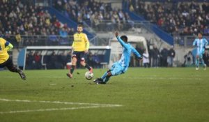 Sochaux 1-1 OM : le but de Bouna Sarr (22e)