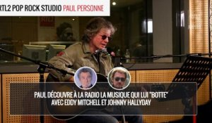 Paul Personne - It's all over now RTL2 Pop Rock Studio