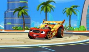 Blaze et les Monster Machines | Blaze, la voiture de course | NICKELODEON JUNIOR