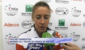 "Fed Cup - Parmentier : ""On n'a pas à rougir"""