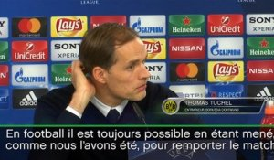 8es - Tuchel : ''Capables de renverser la situation''