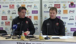 Avant-match Toulon/Lyon : Mike Ford