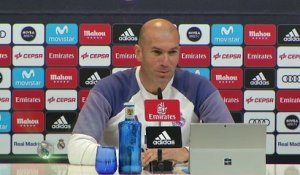 "23e j. - Zidane : ""Content d'avoir la BBC à disposition"""