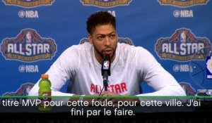 Basket - NBA : Davis ravi d'avoir battu le record
