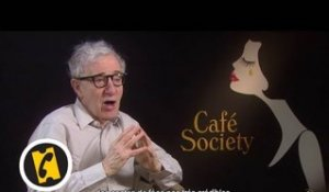 Interview Woody Allen - Café Society - (2016)