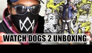 Watch Dogs 2 : notre UNBOXING de l'édition méga collector !
