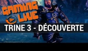 Trine 3 : Gaming live découverte - gameplay (1/2) PC
