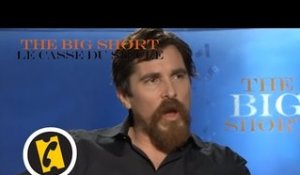 The Big Short : le Casse du siècle - Christian Bale Vs Wall Street - Interview (2015)