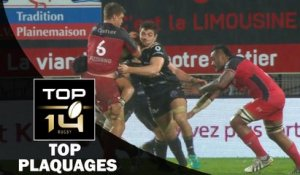 TOP Plaquages de la J19 – TOP 14 – Saison 2016-2017