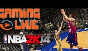 Gaming Live PS3 - NBA 2K14 - Un épisode sans grand relief